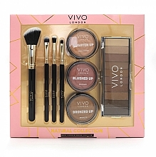 Fragrances, Perfumes, Cosmetics Eye & Face Makeup Set - Vivo London Natural Collection