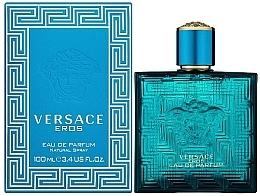 Versace Eros Eau De Parfum - Eau de Parfum — photo N2