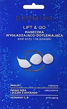 """Fragrances, Perfumes, Cosmetics Eye Mask """"Lift & Go"""" - Dermika Smoothing and Oxygenating Mask"""