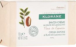 Fragrances, Perfumes, Cosmetics Soap - Klorane Cupuacu Flower Cream Soap