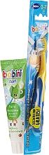 Fragrances, Perfumes, Cosmetics Set - Bobini (toothbrush + toothpaste/75ml)