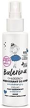 Fragrances, Perfumes, Cosmetics Antibacterial Foot Deodorant - Floslek Balerina Cooling Foot Deodorant Antibacterial