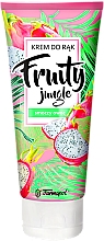 Fragrances, Perfumes, Cosmetics Krem do r№k Smoczy owoc - Farmapol Fruity Jungle Hand Cream