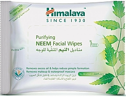 Fragrances, Perfumes, Cosmetics Facial Cleansing Wipes - Himalaya Purifying Neem Facial Wipes