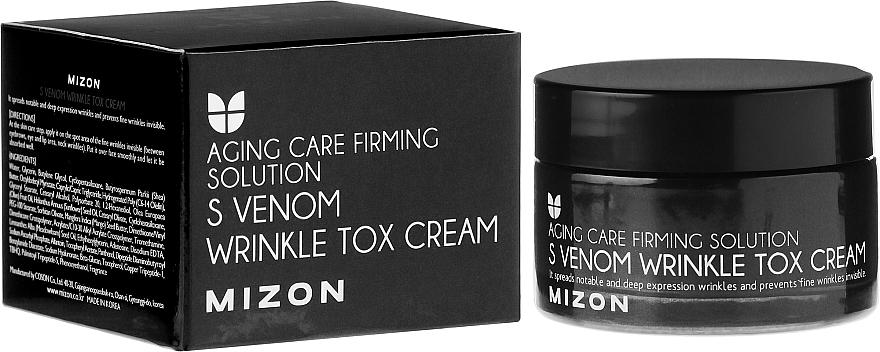 Snake Cream with Botox Effect - Mizon S-Venom Wrinkle Tox Cream