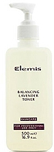 Fragrances, Perfumes, Cosmetics Face Tonic - Elemis Balancing Lavender Toner For Professional Use Only