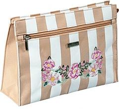 "Fragrances, Perfumes, Cosmetics Makeup Bag ""Chaplet"", 96532, beige - Top Choice"