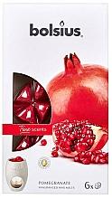 "Fragrances, Perfumes, Cosmetics Scented Wax ""Pomegranate"" - Bolsius True Scents Pomegranate"