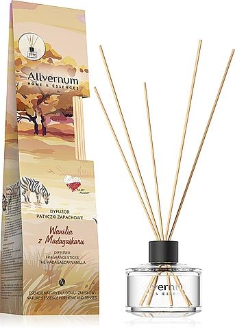 "Aroma Diffuser ""Madagascar Vanilla"" with Sticks - Allverne Home&Essences Diffuser"