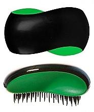 Fragrances, Perfumes, Cosmetics Hair Brush, black-green - KayPro Dtangler