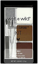 Fragrances, Perfumes, Cosmetics Brow Kit - Wet N Wild Ultimate Brow Kit