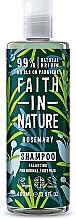 Fragrances, Perfumes, Cosmetics Shampoo for Normal and Greasy Hair 'Rosemary' - Faith In Nature Rosemary Shampoo