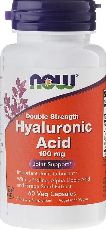 Hyaluronic Acid - Now Foods Hyaluronic Acid 100 mg