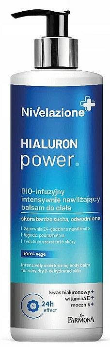 Intensive Moisturizing Body Balm - Farmona Nivelazione Hyaluron Power Body Balm