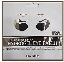 Fragrances, Perfumes, Cosmetics Hydrogel Eye Patches - BeauuGreen Sea Cucumber Black