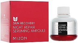 "Fragrances, Perfumes, Cosmetics Night Serum ""Stressed Skin Repair"" - Mizon Night Repair Seruming Ampoule"
