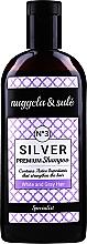 Fragrances, Perfumes, Cosmetics Gray & Bleached Hair Shampoo - Nuggela & Sule Premium Silver N?3 Shampoo