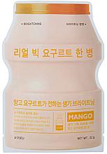 Fragrances, Perfumes, Cosmetics Mango Yogurt Sheet Mask - A'Pieu Real Big Yogurt One-Bottle Mango