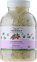 "Fragrances, Perfumes, Cosmetics Bath Salt ""Argan and Fig"" - Green Pharmacy"