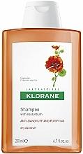 Fragrances, Perfumes, Cosmetics Anti Dry Dandruff Shampoo with Nasturtium Extract - Klorane Shampoo With Nasturtium Extract