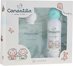 Fragrances, Perfumes, Cosmetics Luxana Canastilla - Set (edt/100ml + soap/150ml)