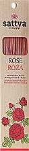 "Fragrances, Perfumes, Cosmetics Incense Sticks ""Rose"" - Sattva Rose"