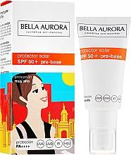 Fragrances, Perfumes, Cosmetics Face Sunscreen - Bella Aurora Protector Solar Pre-Base SPF50+