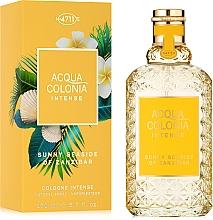 Fragrances, Perfumes, Cosmetics Maurer & Wirtz 4711 Acqua Colonia Intense Sunny Seaside Of Zanzibar - Eau de Cologne