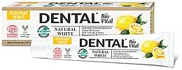 Fragrances, Perfumes, Cosmetics Natural White Toothpaste - Dental Bio Vital Natural White Toothpaste