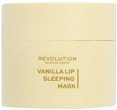 Fragrances, Perfumes, Cosmetics Vanilla Night Lip Mask - Revolution Skincare Vanilla Lip Sleeping Mask