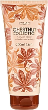 Fragrances, Perfumes, Cosmetics Shower Cream with Chestnut Extract - Oriflame Chestnut Collection Shower Cream