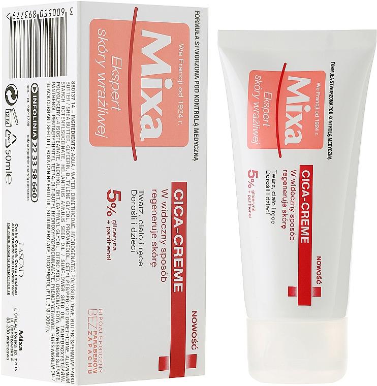 Face, Body and Hands Cream - Mixa Cica Cream