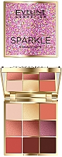 Fragrances, Perfumes, Cosmetics Eyeshadow Palette - Eveline Cosmetics Sparkle