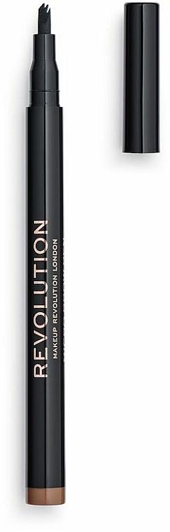 Brow Pencil - Makeup Revolution Micro Brow Pen