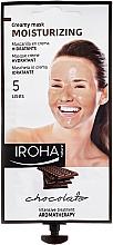 Fragrances, Perfumes, Cosmetics Face Mask - Iroha Nature Moisturizing Chocolate Creamy Mask