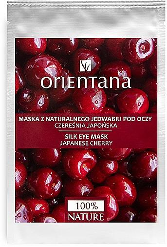 "Eye Mask ""Japanese Cherry"" - Orientana Eye Silk Pad Japanese Cherry"