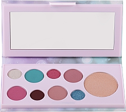 Fragrances, Perfumes, Cosmetics Eyeshadow & Highlighter Palette - Avon Mark Pearlesque Treasure Palette For Eyes & Face