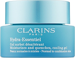 Fragrances, Perfumes, Cosmetics Moisturizing Gel for Normal and Combination Skin - Clarins Hydra-Essentiel Normal to Combination Skin Gel