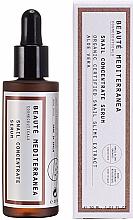 Fragrances, Perfumes, Cosmetics Snail Mucus Rejuvenating Face Serum - Beaute Mediterranea Snail Concentrate Serum