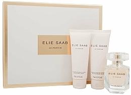 Fragrances, Perfumes, Cosmetics Elie Saab Le Parfum - Set (edp/50ml + b/lot/75ml + sh/cr/75ml)