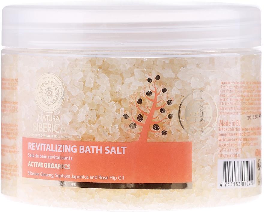 "Bath Salt ""Revitalizing. Anti-Age"" - Natura Siberica — photo N1"