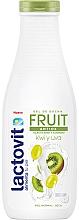 "Fragrances, Perfumes, Cosmetics Shower Gel ""Kiwi and Grapes"" - Lactovit Fruit Shower Gel"