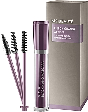 Fragrances, Perfumes, Cosmetics Lash Mascara - M2Beaute Quick-Change Artists 3 Look Black Nano Mascara