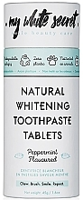 Fragrances, Perfumes, Cosmetics Whitening Toothpaste - My White Secret Natural Whitening Toothpaste Tablets