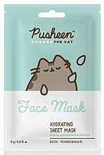 Fragrances, Perfumes, Cosmetics Moisturizing Face Mask - Pusheen The Cat Hydrating Sheet Mask