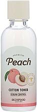 Fragrances, Perfumes, Cosmetics Face Toner - Skinfood Premium Peach Cotton Toner