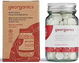 "Fragrances, Perfumes, Cosmetics Tooth Cleansing Tablets ""Eucalyptus"" - Georganics Toothtablets Eucalyptus"