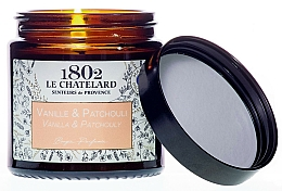 Fragrances, Perfumes, Cosmetics Leather & Oud Scented Candle - Le Chatelard 1802 Leather & Oud Scented Candle
