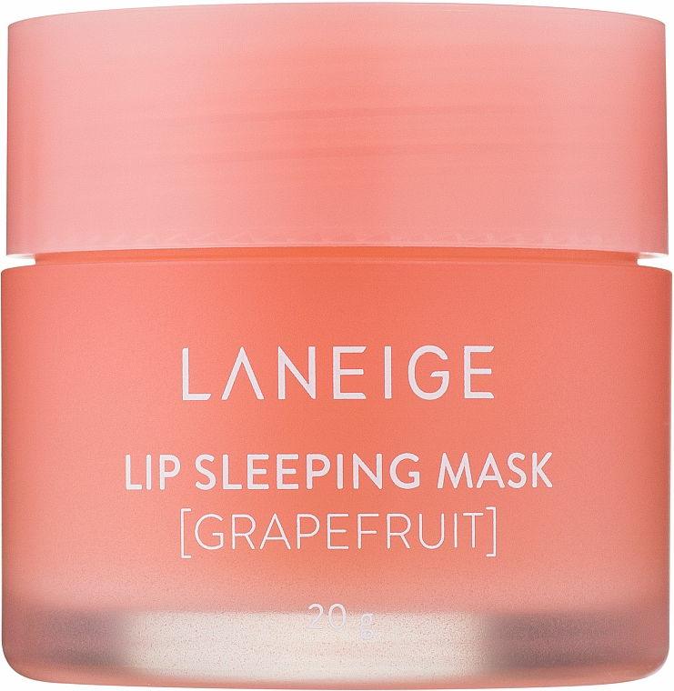 "Night Lip Mask ""Grapefruit"" - Laneige Lip Sleeping Mask Grapefruit"