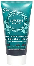 Fragrances, Perfumes, Cosmetics Deeply Purifying Birch Charcoal Mask - Lumene Puhdas Deeply Purifying Birch Charcoal Mask